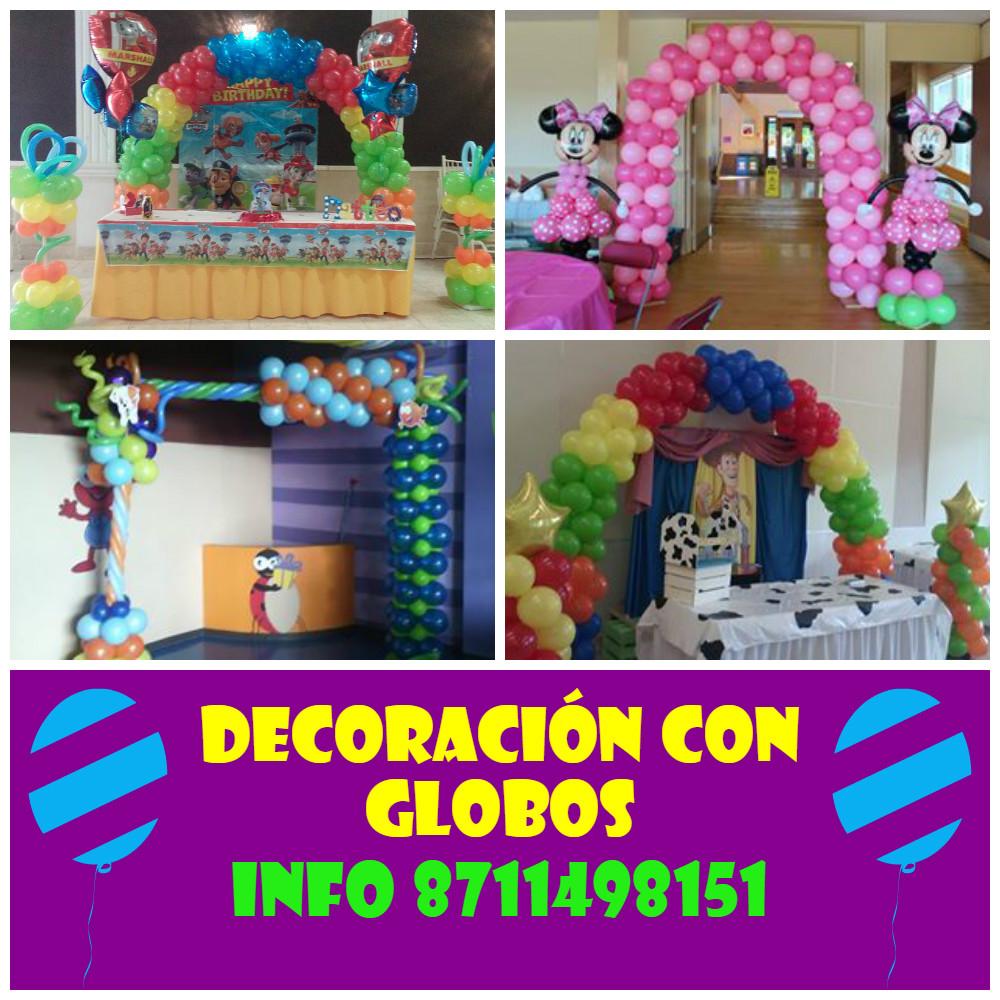 Actividades infantiles como renta de caballetes infantiles for Decoracion con globos bodas